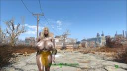 Fallout 4 Nude Mod - Leila - StripTease