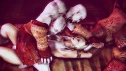 Kratos gives Sophia a rough ride