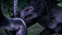 Werewolf And Khajiit - Sex