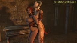 Triss Merigold and Succubi angle2
