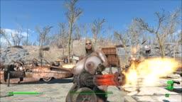 Fallout 4 Nude Mod - Leila and Machine Gun