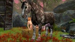 Tina Horse Footjob