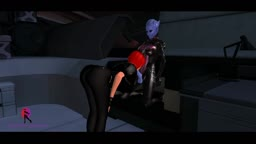 Femshep Vs Asari Commando