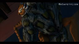 Master Tigress gets impregnated by Tai Lung