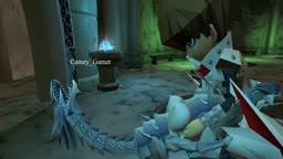 Kaiba and his precious Blue eyes white dragon
