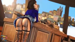 Elizabeth bouncing ass