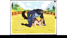 Female and Wolf