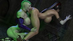 Bayonetta Tongue Fucked