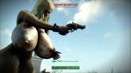 Fallout 4 Nude Mod - Leila - Duel