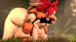 Flannery and Arcanine