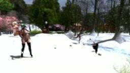 Hotties Snowball Fight