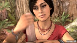 Chloe Frazer [Uncharted: The Lost Legacy] Handjob Animation
