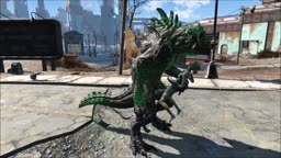 Fallout 4 The big dick of Deathclaw