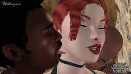 Interracial Blowbang (Emilie) Scene6 Episode4