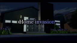 Sims 4 - Home Invasion (Teaser) Screenshots of this video, on my wall