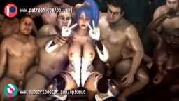 taimanin Episode2 part1 Chaos Arena