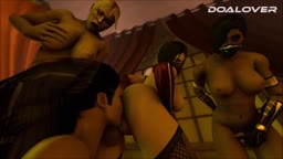 DOALOVER - MORTAL KOMBAT 9 -HAREM FROM ANOTHER WORLD  EP 51