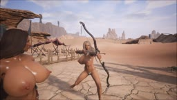 Conan Exiles - Paula and Bow