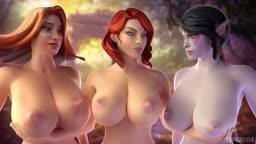 Teasing girls (Fennochik)