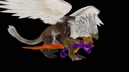 Gryphon and Spyro