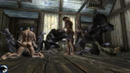 Werewolf party