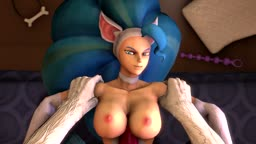 Felicia and Jon Talbain - Titjob