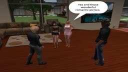 Double Date Night Scene 2