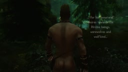 Skyrim Story: Jagor the Hunter I