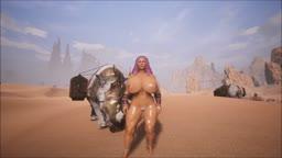 Conan Exiles - My Frien Rhino
