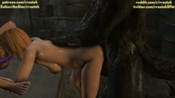 Dead or Alive 5 Orgy with monsters angle2