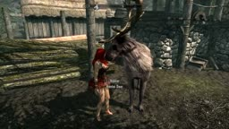 Deer fucks Lydia part 1 Skyrim mods