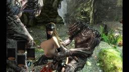 skyrim sex with 2 troll