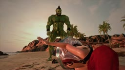 Orc Brutal Beach Anal