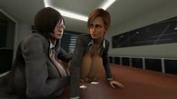 Milky'series Lisa and Ada'wong