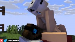 Minecraft Chick In Bedwars Gets Fucked
