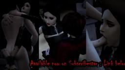 Sims 4 - Master Vampire sires Cassandra Goth (Teaser)