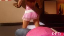 Pink Hair 3D Sex Animation patreon.com/Redx3D