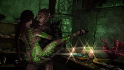 Milf Adventurer Meets A Falmer | Skyrim HMV | Power Glove