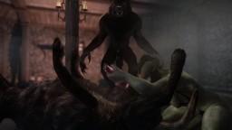 Skyrim: The Werewolf Brothel Bonus Scene